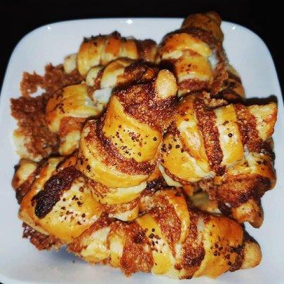 Croissants caramélisés au poivre rouge de Kampot