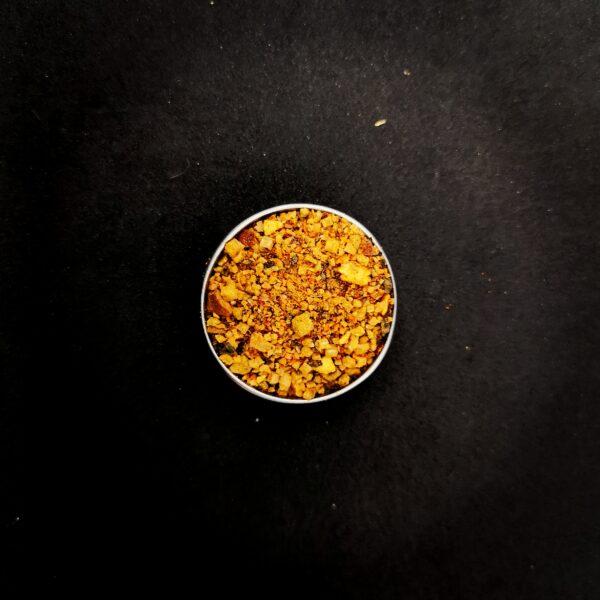 Fleur de sel parfumée au piment fumé
