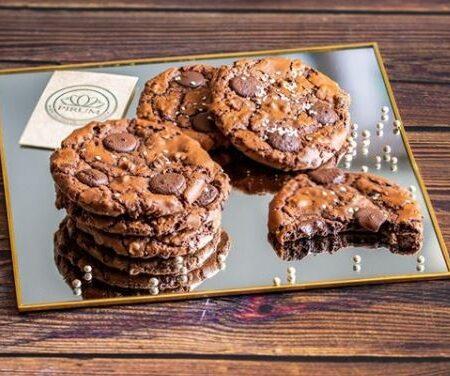 Cookies au chocolat, sésame & poivre blanc de Kampot